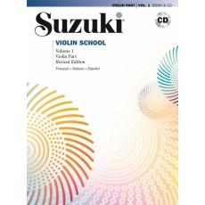 Suzuki - Violin School Vol 1 + CD