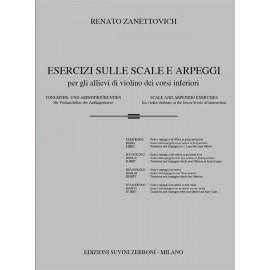 Zanettovich Esercizi Sulle Scale e Arpeggi Vol. 1