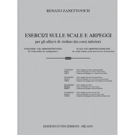 Zanettovich Esercizi Sulle Scale e Arpeggi Vol. 3