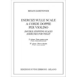Zanettovich Esercizi Sulle Scale A Corde Doppie Per Violino 1 vol
