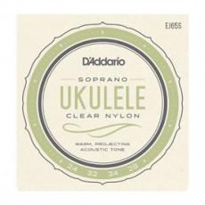 D'Addario EJ65S Set Nylon Ukulele soprano