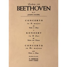 Beethoven OP.61 Concerto in Do Maggiore Violino e Piano