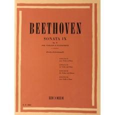 Beethoven Sonata IX op 47 Violino e Pianoforte