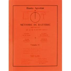 Agostini Méthode de batterie - Volume 4
