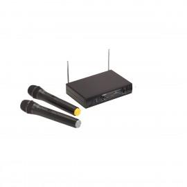 SOUNDSATION WM-V21HHB Radiomicrofono VHF Doppio