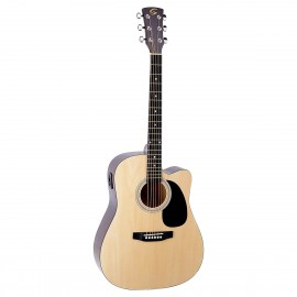 SOUNDSATION YOSEMITE-DNCE-NT Chitarra Dreadnought cutaway