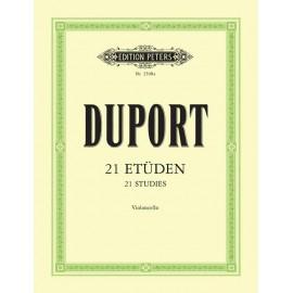 Duport - 21 Studies