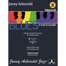 Aebersold Vol. 42 - Blues in tutte le tonalità (con CD)