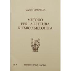 Ciannella Metodo per la Lettura Ritmico Melodica