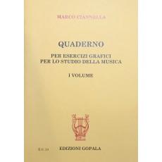 Ciannella Quaderno di Esercizi Grafici  1 vol