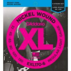 D'Addario EXL170 -6 32-130 (6 CORDE)