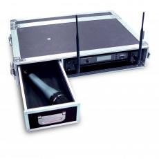 JTS FC-1U Flight case per radiomicrofono