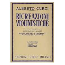 Curci Ricreazioni violinistiche Fascicolo 1