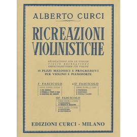 Curci Ricreazioni violinistiche Fascicolo 2
