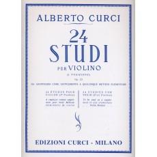 Curci 24 Studi  elementari per violino