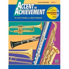 Accent On Achievement, Book 1 (Alto Saxophone) + cd
