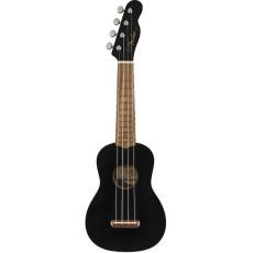 Fender Venice Soprano Uke, Blk WN