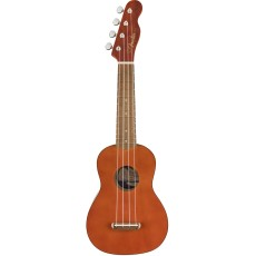 Fender Venice Soprano Uke, Walnut Nat