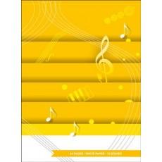 Quaderno di musica 12 righi 64 pagine