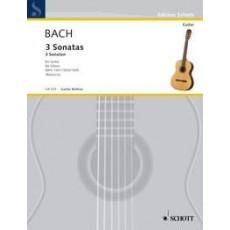 Baxch - 3 Sonatas BWV 1001/1003/1005