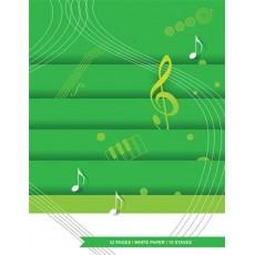 Quaderno di musica 12 righi