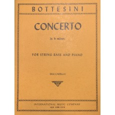 Bottesini Concerto in b minor C/basso e piano