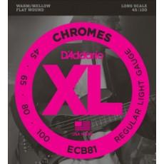 D'Addario Set Chromes Bass, Light