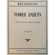 Beethoven 3 Duetti