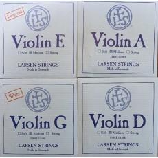 Larsen Violino set  SYNTHETIC/ FIBRE CORE