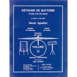 Agostini Méthode de batterie - Volume 2
