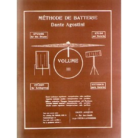 Agostini Méthode de batterie - Volume 3