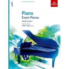ABRSM Piano Exam Pieces 2019 and 2020 - Grade 1
