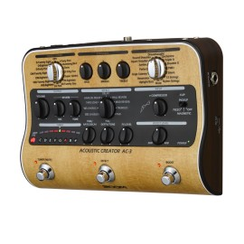 Zoom AC-3  Preamp a pedale per chitarra acustica
