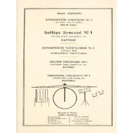 Agostini Solfège syncopé - Volume 1