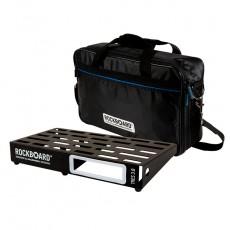 Rockboard RBO B 3.0 TRES B Pedaliera per pedali effetto con borsa imbottita