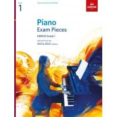 ABRSM Piano Exam Pieces 2021 & 2022 - Grade 1
