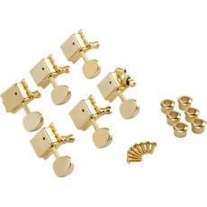 Fender Vintage-Style Strat®/Tele® Tuners, Gold (6)