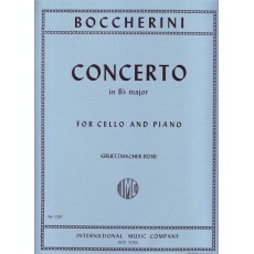 Boccherini Concerto  for Cello and Piano