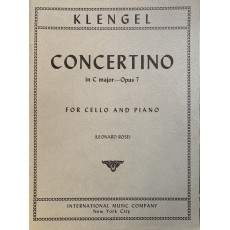 Klengel Concertino Do Op. 7 per cello e piano