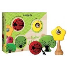 Campanilla Set percussioni Amici del giardino