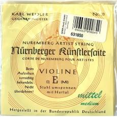 NÜRNBERGER Set Violino 4/4 Künstler Seilkern