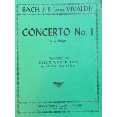 Bach Concerto N. 1 Sol (Da Vivaldi)