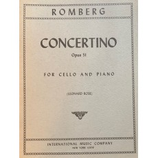 Romberg Concertino Re M. Op. 51