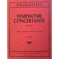 Prokofieff Symphonie Concertante op. 125