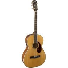 Fender PM-2 Standard Parlor, Ovangkol Fingerboard, Natural w/case