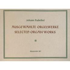 Pachelbel Ausgewahlte Orgelwerke 3