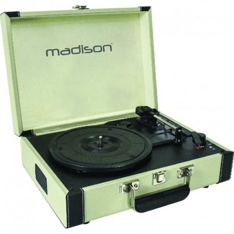 Madison Giradischi vintage in valigetta