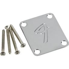 Fender NECK PLATE - 'F', CHROME
