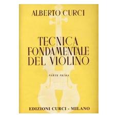 Curci Tecnica Fondamentale del Violino 1