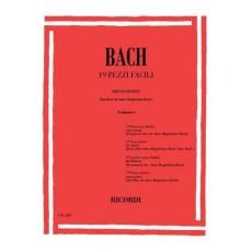 Bach 19 Pezzi Facili per Pianoforte